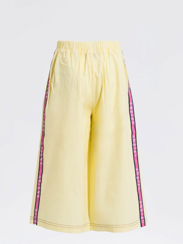 Flared Sporty Trouser
