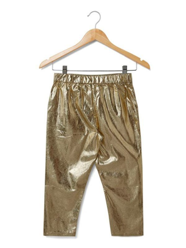 Kids Trouser Golden Shine Trouser Golden
