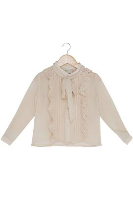 Long Sleeves Ruffle Shirt