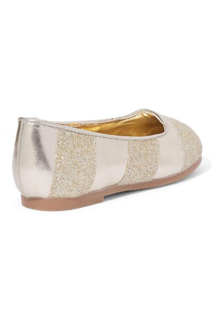 Sequin Pattern Ballerinas