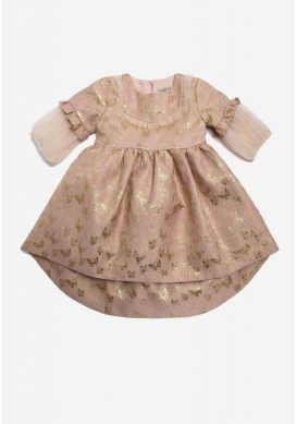 Butterfly  Mesh Kids Dress