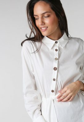 Bow Tie Long Sleeves Shirt