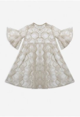 Empire Embroidered Kids Kaftan