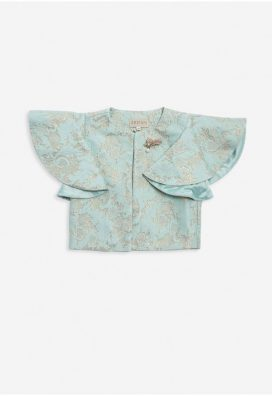 Lace Wide Sleeves Kids Jacket