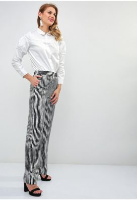 Nautical Stripe Print Trouser