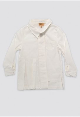 Plain Long Sleeves Kids Shirt