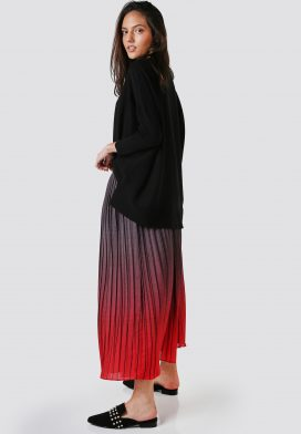 Pleated Full Style Skirt