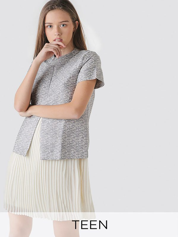 High Slit Youth Top