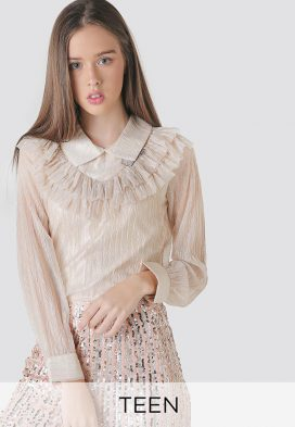 Collar Neck Youth Top