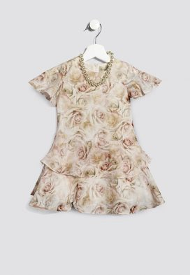 Floral  Skirt Kids Dress