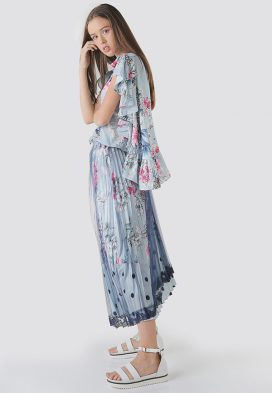 Pleated Youth Skirt