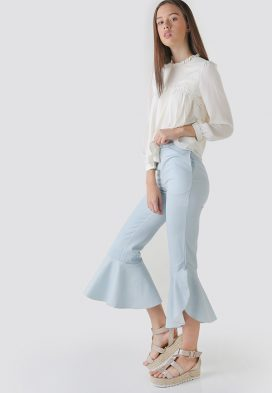 Twisted Frill Youth Trouser