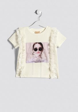 Graphic Print Kids Top
