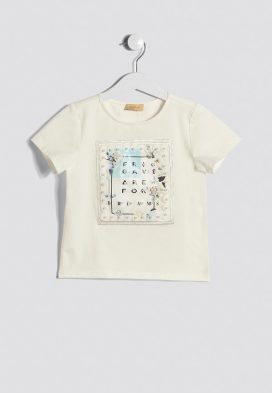 Slogan Print Kids Top