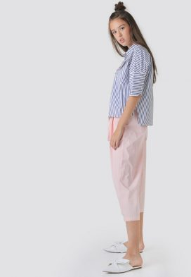 Tie Strap Waist Youth Pants