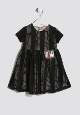 5A Patch Kids Dress