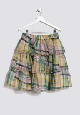 Checkered Kids Skirt