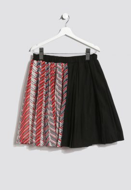 Abstract Print Kids Skirt