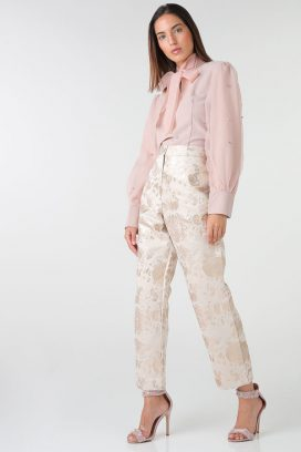 Gold Detail Trousers