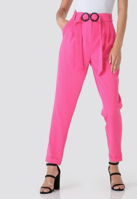 Circle Belted Trouser