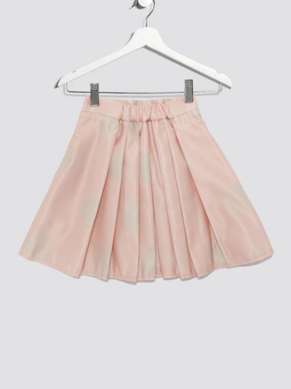 Kids skirt Polka Dot Pleated Kids Skirt