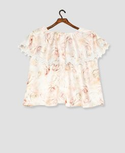 Multi Floral Layered Top