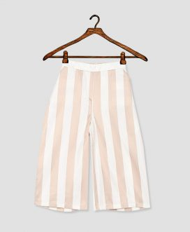 Girls Off-White Multi Wide
