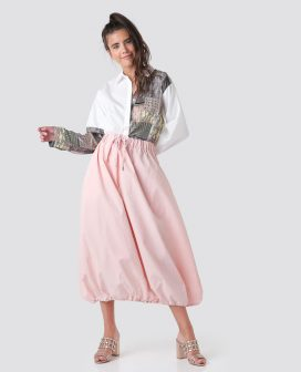 Elasticated Full Style Skirt