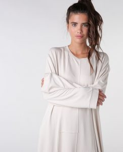 Drop Shoulder Tunic Dress