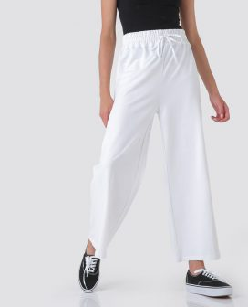 Drawstring Waist Detail Pants
