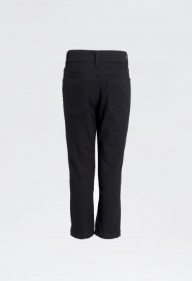 Straight Denim Trouser Black