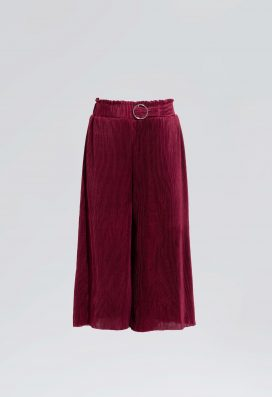 Crushed Plisse trouser