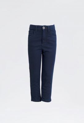 Straight Denim Trouser Navy
