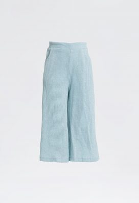 Flared Knit Trouser
