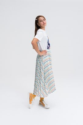 Midi Multicolored Skirt