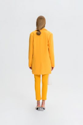 Skinny Yellow Trouser
