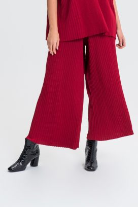 Full Elastic Red Trouser