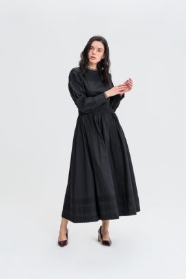 Full Sleeves Al-Line Dress