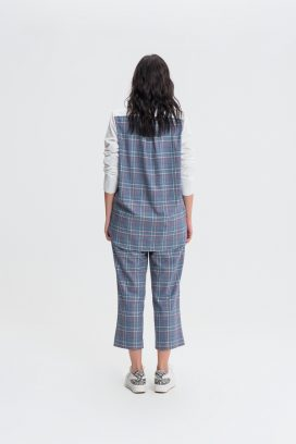 Multi Checks Trouser