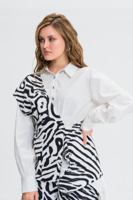 Printed Full Sleeves Top