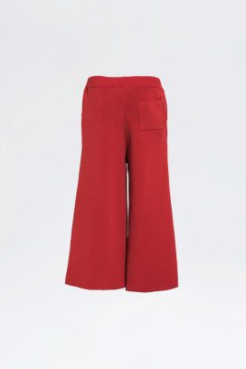 Full Elastic Wide Leg Trouser