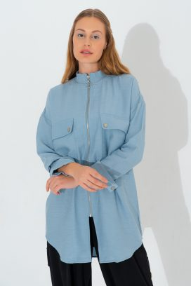 Full Sleeves Blue  Tunic