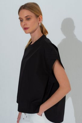 Japanese Round Neck Blouse