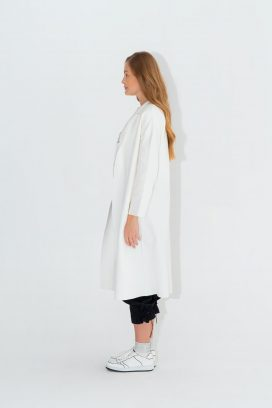 Off White Long Cardigan