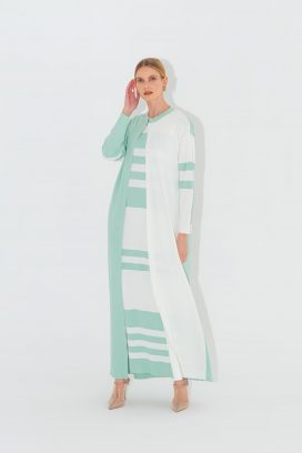 Long Mint  Cardigan