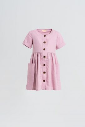 Half Sleeves Shirt Dress