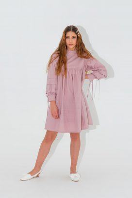 Full  Sleeves  Shift Dress