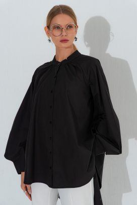 Full Sleeves Black Shirt