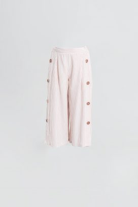 Wide Elastic Trouser