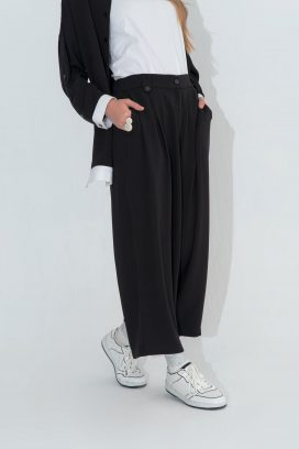 Buttoned Training Trouser